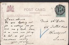 Family History Ancestor Postcard - Caton - 55 Talbot Road, Blackpool, Lancs RF45