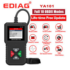 EDIAG YA101 OBDII Scanner Car Check Engine Analyzer Diagnostic Tools Code Reader