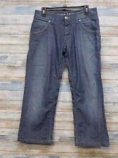 Tommy Hilfiger Jeans 31 x 26 Men's Button Fly Crop Capri Stretch       (R-94)