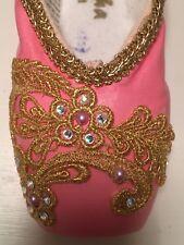 Decorative Pink Nutcracker Sugar Plum Aurora Ballet Art Display Pointe Shoe SALE