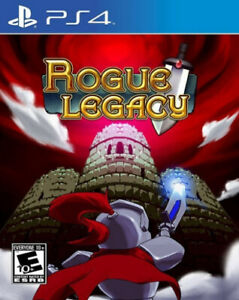 Rogue Legacy Limited Run #277 PS4 ~ BRAND NEW SEALED ~ NTSC