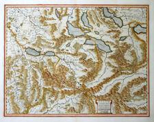 SCHWEIZ SWITZERLAND ARGOW CUM PARTE ZURICHGOW AARGAU ZÜRICH MERCATOR BLAEU 1635