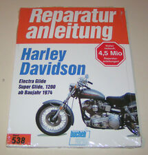 Reparaturanleitung Harley Davidson Electra Glide / Super Glide, 1200 - ab 1974!