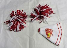 Build-a-Bear clothes BABW  Cheerleader pom poms & megaphone  accessory  lot