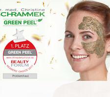 BEHANDLUNG GreenPeel Kräuterschälkur mit Dr. Schrammek Produkten, Hauterneuerung