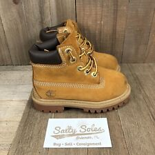 Timberland Wheat Brown Boots (12809) Toddler Boy's Size 6 M