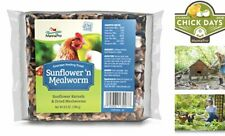 Manna Pro Sunflower & Mealworm Snack Cake Treats, 6.5 oz, Model:1030075