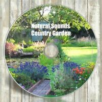 NATURAL SOUNDS CD COUNTRY GARDEN - RELAXATION & SLEEP AID CALMING MEDITATION