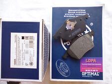 Jeu 4 plaquettes de frein avant SEAT Alhambra (LDPA44)