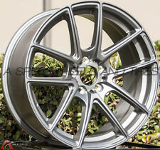 18X8 Inovit 985 Wheels 5x120 +35mm Gun Metal Rims (Set of 4)