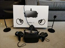 Oculus Rift Virtual Reality Headset - Rift + Touch Bundle, boxed with sensors