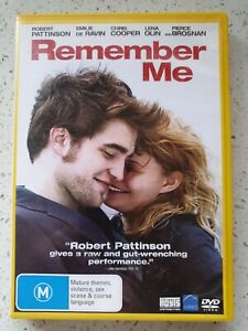 Remember Me. DVD - Robert Pattinson, Chris Cooper, Pierce Brosnan, Lena Olin