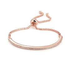 Rose Gold Friendship Bracelet with Crystals from Swarovski®