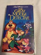 New listing Walt Disney Vhs Black Diamond The Great Mouse Detective
