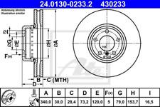 Bremsscheibe (2 Stück) - ATE 24.0130-0233.2