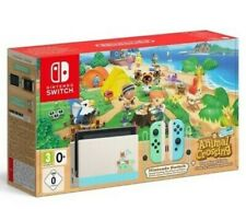 CONSOLE NINTENDO SWITCH ANIMAL CROSSING NEW HORIZON LIMITED EDITION RARE NEW