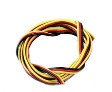 1m 22AWG Heavy Duty Flat Servo Wire Suit JR Hitech Spektrum Futaba Top Quality