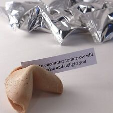 Fortune Cookies: Pack of 100: Silver Foil Wrappers