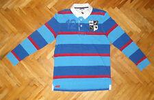 New Zealand Rugby Union polo shirt multicolor Canterbury all blacks Rare XL