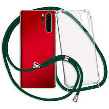 Handykette Hülle Band Neck Case Cover Schutzcase für OnePlus 7 - grün