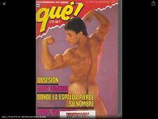 QUE ¿ TE VA ? Nº 16  -  Magazine  vintage gay Spain años 90