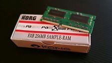 256mb korg pa2x pa3x m3 pa800 sample Ram memory exb