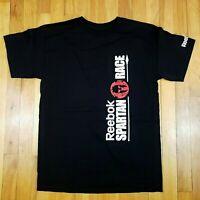 Reebok Spartan Race Mens Shirt Sz M Black NWOT
