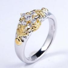 & Oak Leaf Engagement Two Tone Ring Peter Pan Second Star to the Right Acorn
