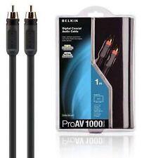 Cable Belkin Cablea/v Coax Rca/rca 2m