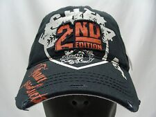 NEW YORK - 2ND EDITION - EIGHTY FOUR - 1984 BLUE DISTRESSED STYLE BALL CAP HAT!