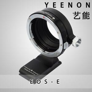 YEENON CANON EOS lens TO SONY E Camera Adapter (With 90º rotating tripod base)