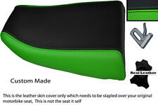 GREEN & BLACK CUSTOM FITS KAWASAKI NINJA ZX6R 600 95-97 REAR SEAT COVER