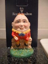 Inglés Royal Doulton Humpty Dumpty de Nursery Rhyme Colección en Caja