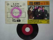 "THE KINKS "" VOL. 3 "" TILL THE END OF THE DAY - GAMMA - GOOD - MEXICAN EP 7''"