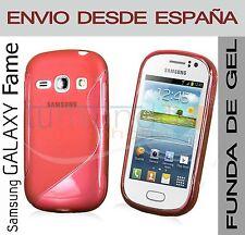FUNDA GEL TPU ROJA para SAMSUNG GALAXY FAME S6810 en ESPAÑA CARCASA