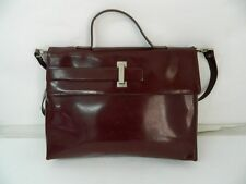 Borsa COCCINELLE Made in Italy Bordeaux similpelle tracolla donna OMA17