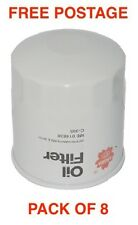 Sakura Oil Filter C-1125 BOX OF 8 Interchangeable with RYCO Z386