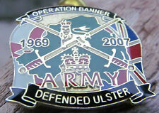 OPERATION BANNER BRITISH ARMY BADGE SAS PIN PINS UDR PARACHUTE REGIMENT BELFAST