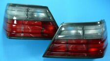 Black/Red Rear Lights Fits Mercedes W124 Coupe Cabrio