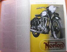 NORTON 1949 PROSPEKT 16H 18 30M MANX 30 40 ES2 SIDECAR OLDTIMER SAMMLER OLDTIMER