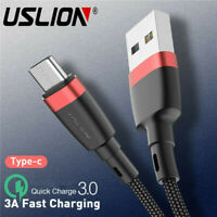 3A USB Type C Charger Data Cable Fast Charging For Huawei P30 Pro Samsung S10 +