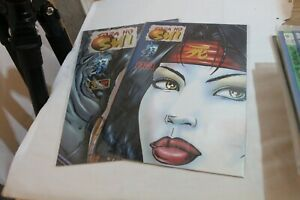 Shi: the Blood of Saints #2, 3 VF/NM fan edition - gold foil variant - crusade