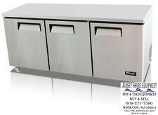 Migali C U72r Hc Under Counter Work Top Refrigerator Three Solid Doors Warranty
