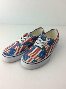 VANS  24cm Vn0004Mkie7 Stars And Stripes Multicolor Size 24cm Sneakers