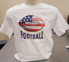 Football tshirt American flag sports apparel Small