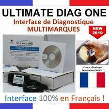 Interface De Diagnostic Multi Marques Version CD Valise Diagnostique Voitures FR