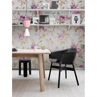 Violette Rosen Blumen Textur Vlies Fototapete grün und rosa Wandmalerei groß