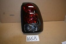 2002 - 2009 Trailblazer Passenger Side Tail Light Used Rear Lamp #1668-T