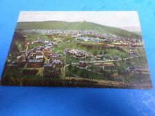 BIRD'S EYE VIEW OF MAUCH CHUNK, PA. 1908, MADE IN GERMANY, POST CARD