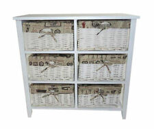 MDF/Chipboard 60cm-80cm 6 Chests of Drawers